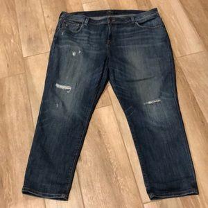 Lucky Brand Reese Boyfriend Jeans Sz 18